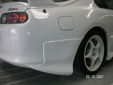TeamJetspeed Made Fiberglass 1994 on Toyota Supra VSL Style Rear Add Ons RAW NEW