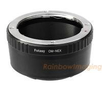 """Olympus OM Lens to Sony NEX a6300 a6000 a5100 a5000 a3500 a3000 Adapter """"US Ship"""