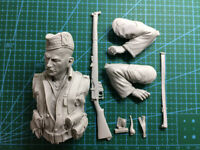 ██ Resin 1/10 Sergeant Gordon Highlanders 1914 Bust Unpainted Unassembled