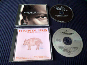 2 CDs Haindling SPECK Best Of Greatest Hits 82-92 & Perlen Konzert LIVE 40 SONGS