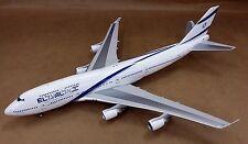 Inflight 200 El Al Isreal Airlines B747-400 4X-ELC 1:200 like Gemini 200
