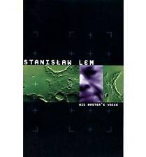 NEW His Master's Voice by Stanislaw Lem