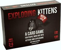 Exploding Kittens: NSFW Edition - ADULTS ONLY - 2-5 Player Card Game New Sealed