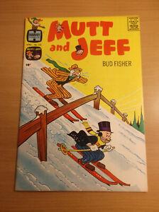 HARVEY COMICS: MUTT & JEFF #123, EARLY RICHIE RICH, RARE, HIGH GRADE, 1961, NM!!