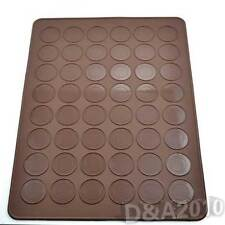 Silicone 48-cavity Macaroon Pastry Mat Cake Nonstick Baking Sheet Chocolate Tool