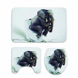 Bathroom Toilet Seat Closestool Cushion Washable Soft Non-Slip Mat Cover Pad LB