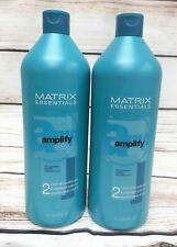Matrix Essentials Amplify 2 Color XL Conditioner 1 Liter ( 33.8 Oz)- 2 BOTTLES