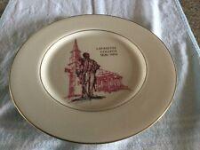 Castleton China Lafayette College Sesquicentennial Plate 1826-1976