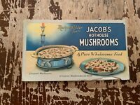 Vintage Jacobs Hothouse Mushrooms National Tea Company Advertisement