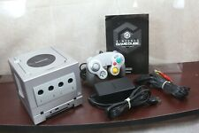 Nintendo GameCube Silver Console System + Game Boy Player Enjoy Plus Pack