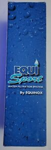 Equinox - Equi Sport Portable Water Filtration System Bottle.