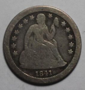 1841 O Seated Dime ZC460