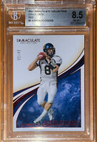 🔥2020 Aaron Rodgers IMMACULATE COLLECTION COLLEGIATE RED #2 /49 BGS 8.5 PSA