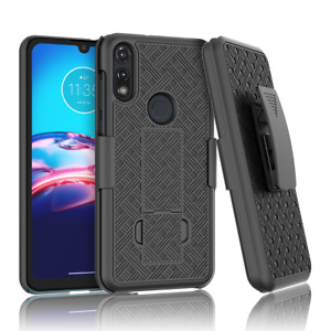 For Motorola Moto G Power 2021 Phone Case Cover with Belt Clip Holster Kickstand