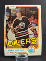 1981-82 O-Pee-Chee #118 Mark Messier 2nd year card Edmonton Oilers Legend HOF