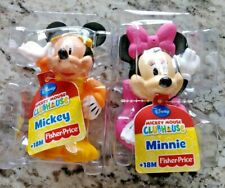 New Fisher-Price Disney Minnie Mouse & Mickey Bath Water Squirters 18 Months+