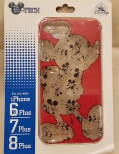 Mickey Mouse Clear iPhone 6sPlus 7Plus 8Plus