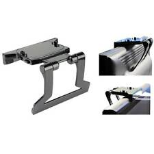 TV Clip Mount Mounting Stand Holder for Microsoft Xbox 360 Kinect Sensor Black