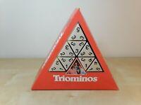 Vintage Triangular TRIOMINOS Rare Game by Goliath - No Instructions