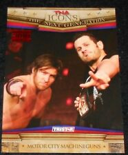 TNA  -  ICONS - MOTOR CITY MACHINE GUNS - RED PARALLEL  #3/5