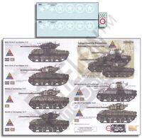 Echelon Fd 1/35 Sandbagged Shermans Of The 14th Corrazzata Divisione #D356219