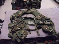 Military Tacticle Load Bearing Vest( Enhanced) in Woodland Camo.