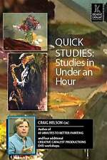 Quick Studies: Studies in Under an Hour (in Oil) with Craig Nelson - Art DVD