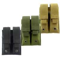 MOLLE Pouch Double Magazine Holder Handgun Mag Pouch Holster for Hunting
