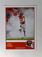 2019 Score Football Base #7 Dee Ford - Kansas City Chiefs