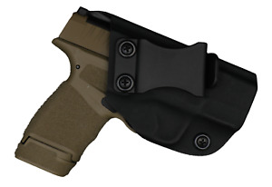 IWB Concealed Carry CCW Kydex Holster Appendix SOB Strong - Left Hand - Black