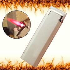 Windproof Jet Flame Refillable Butane Gas Cigar Torch Cigarette Lighter Gold WT