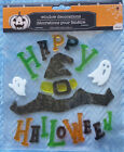Halloween Glass Window / Wall Mirror Cling Decoration 22pc. New!! Witch Decor
