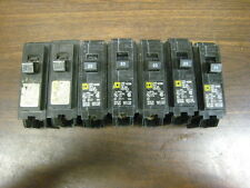 Lot Of 7 Used Square D Hom120 Type Hom 10Ka 1P 20A Circuit Breakers