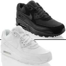 Scarpe sportive Uomo Nike Air Max 90 Leather 302519-001 Nera Pelle 42 5