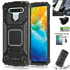 Phone Case For LG Stylo 6 / Stylo 6 Case Heavy Duty Shock Absorbing Metal Cover