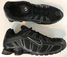 Nike Mens Shox Trubo III Running Shoes Size 14 Blackout