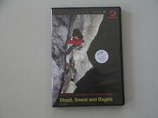 BLOOD, SWEAT AND BAGELS--REGION 1-U.S. & CANADA-RARE ROCK CLIMBING DVD-2002