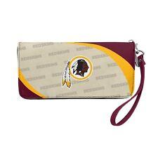 Washington Redskins  NFL Women's Curve Zip Organizer Wallet / Purse