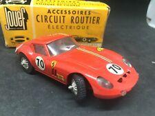 JOUEF Slot car Ferrari GTO #70 Circuit record 64 1/43 circuit AUTO + boite brm