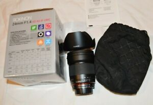 Rokinon 24mm F1.4 Aspherical Wide Angle Lens for Nikon Digital SLR