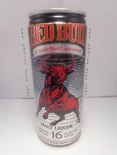 RED BULL MALT LIQUOR ALUMINUM 16oz STAY TAB BEER CAN #2    WIN UP TO $1,000