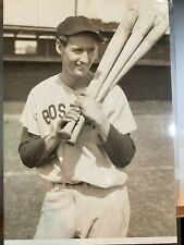 Vintage 1946 TED WILLIAMS Original Photograph 6 3/8 x 9 1/4 inches - PSA Type 1