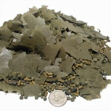 Spirulina Gourmet Mix in Flakes, Sinking Bits, Floating Pellets   GFB-350