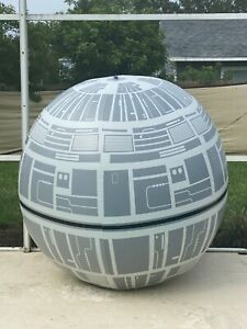 Rare Star Wars Death Star 8ft Beach Ball at Galaxy Edge Party Walt Disney World