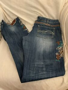 Cowgirl Tuff Jeans, 'Unbelievable Spirit' 35x37, Very Good Preloved Condition