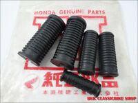 HONDA CA100 C100 C102 C105 Rubber Set Foot rest & Pillion step & Kick Starter JP