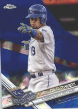 CHESLOR CUTHBERT 2017 TOPPS CHROME SAPPHIRE EDITION #677 ONLY 250 MADE