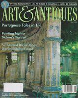 Art & Antiques June 1998 Portuguese Tales in  Tile  (Magazine: Antiques, Art)