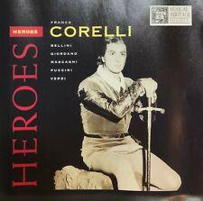 Franco Corelli – Heroes (CD 1997 MHS) *Very Good*