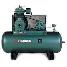 FS-Curtis ML15 15-HP 120-Gallon Pressure Lubricated Two-Stage Masterline Air ...